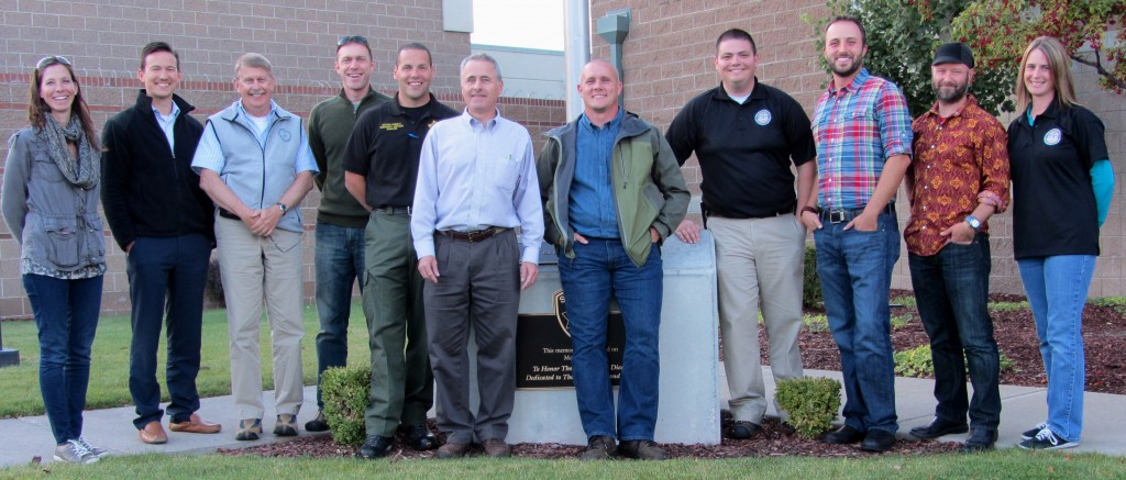FEMA Region X, OEM, DLCD, Deschutes County Sherriff and OPDR staff at the conclusion of a successful two day NHMP training in Bend
