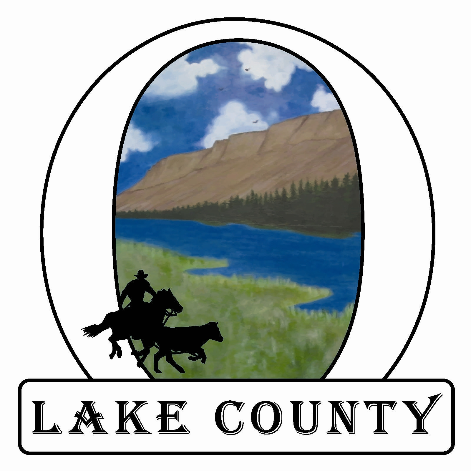 Image result for lake county oregon logo