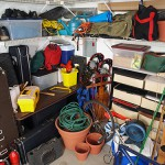 overstuffed garage