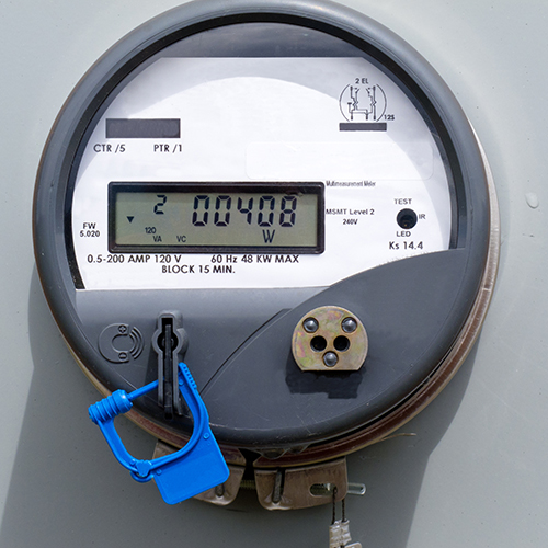 modern electric meter