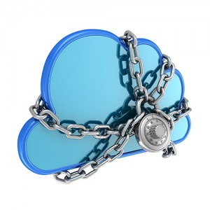 padlocked cloud