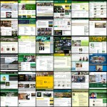 Mosaic of UO Website Interfaces