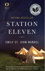 The 2015 Common Reading book, Station Eleven features a post-apocalyptic world with elements of art and theater.