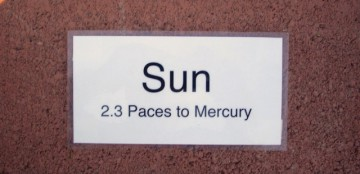 Sun marker