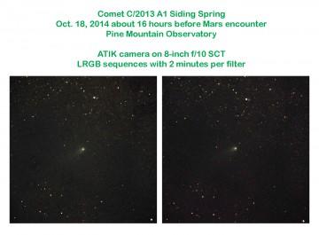 Comet C/2013 A1 Siding Spring