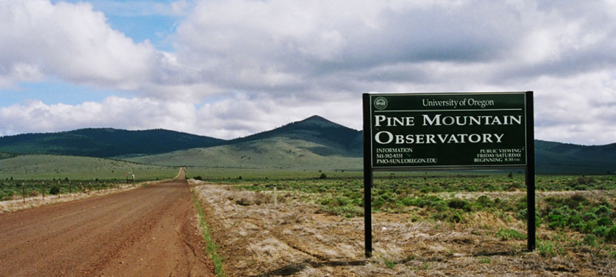 Pine Mountain Observatory, photo by Justin Hartney