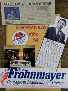 Materials from Frohnmayer's attorney general campaigns