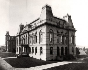 Deady and Villard Hall
