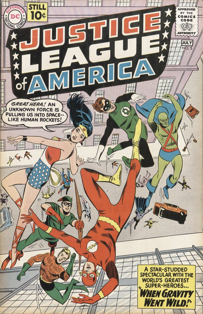Justice League of America, no. 5, July 1961