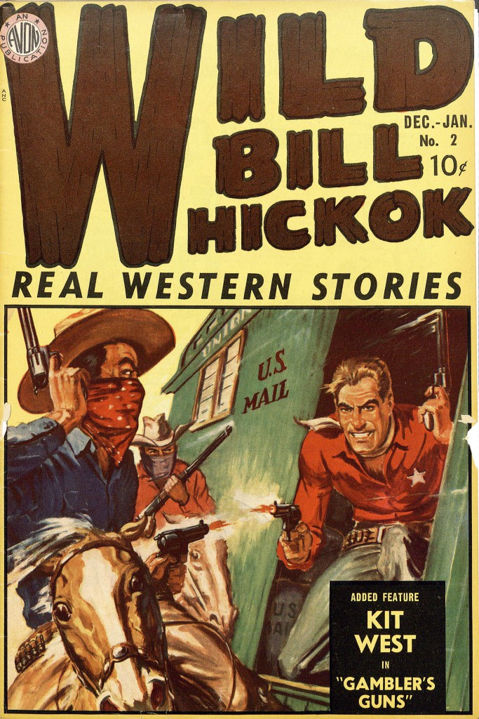 Wild Bill Hickok, no. 2, Dec.-Jan., 1949-1950