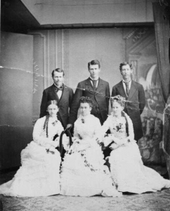 Class of 1879 (UO Archives Photographs)