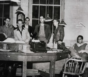 Early staff of the Oregon Daily Emerald (UA REF 3, Box 92, Folder 24)