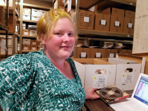Kristin Gustafson, Special Collections and University Archives Intern