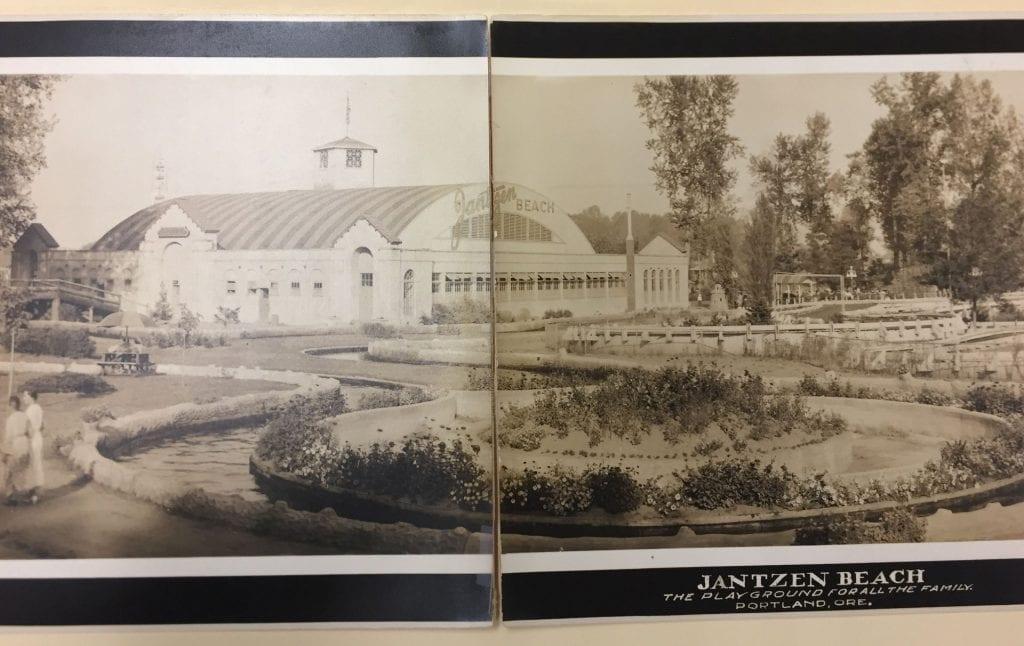 Gardens and buildings of Jantzen Beach