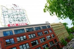 White Stag neighborhood, Portland UO Campus