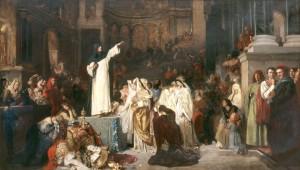 Savonarola-preaching-against-prodigality-ludwig-von-langenmantel-1879