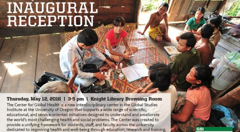 Center for Global Health Inaugural Reception on May 12