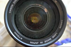 dusty lens