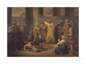 peter-hall-st-peter-rebukes-ananias-for-withholding-money-from-god