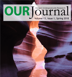 Cover of OURJ Spring 2018