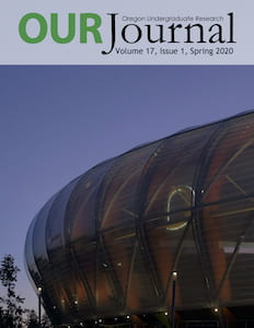 Cover image of Hayward Field taken by Audrey Kalman