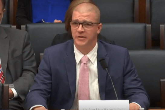 Prof. Van Den Wymelenberg Testifies in Congress on Healthy Buildings