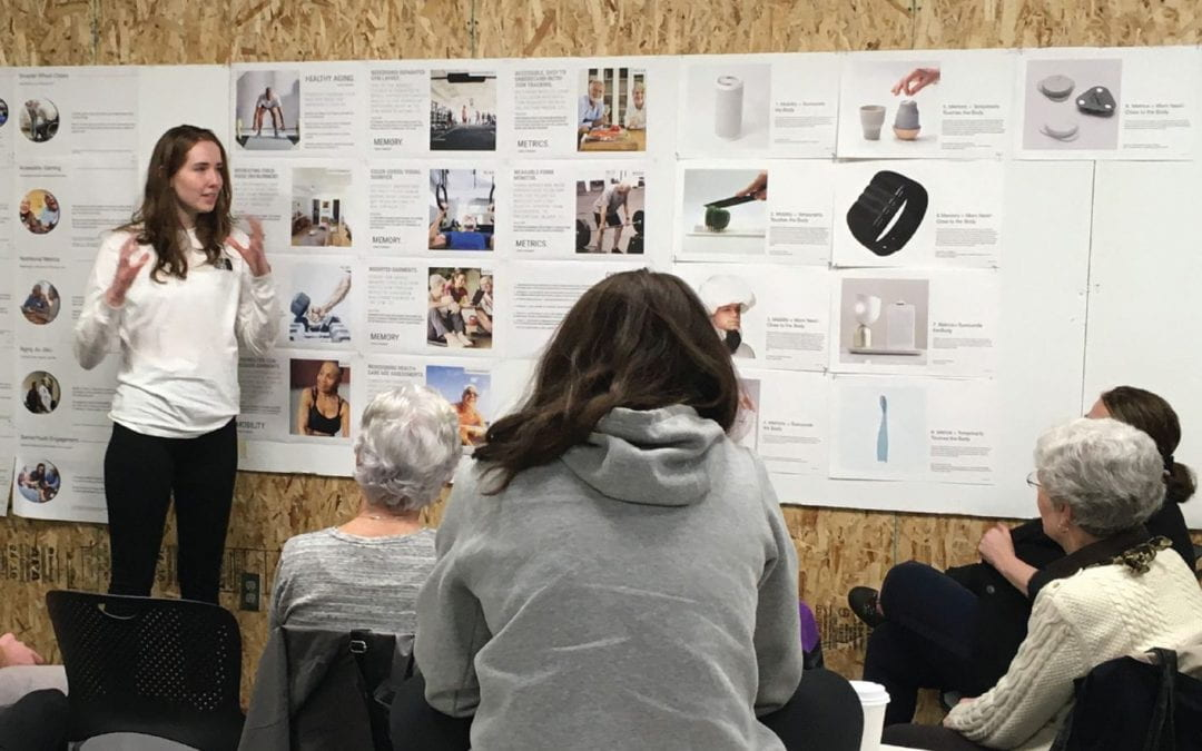 Cross-disciplinary class finds innovative solutions to design for healthy aging
