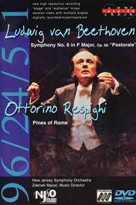 New Jersey Symphony Orchestra - Pines of Rome DVD (AIX Records)