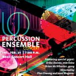 Heaven and Earth (Cheung) with UO Percussion Ensemble