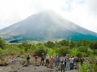 Costa Rica Group at Arenal Volcano