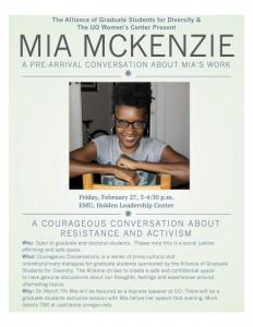 Mia McKenzie Courageous conversations