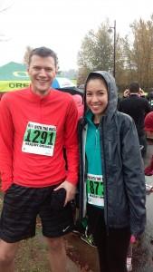 nov 8- jacob & lauren before the race