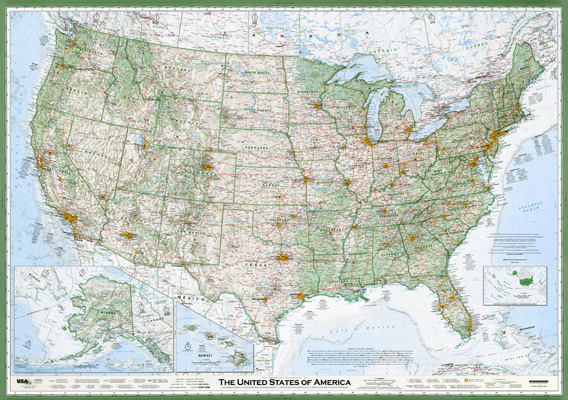 Dave Imus And The Cultural Importance Of Paper Maps Department Of - Cultural-map-of-the-us