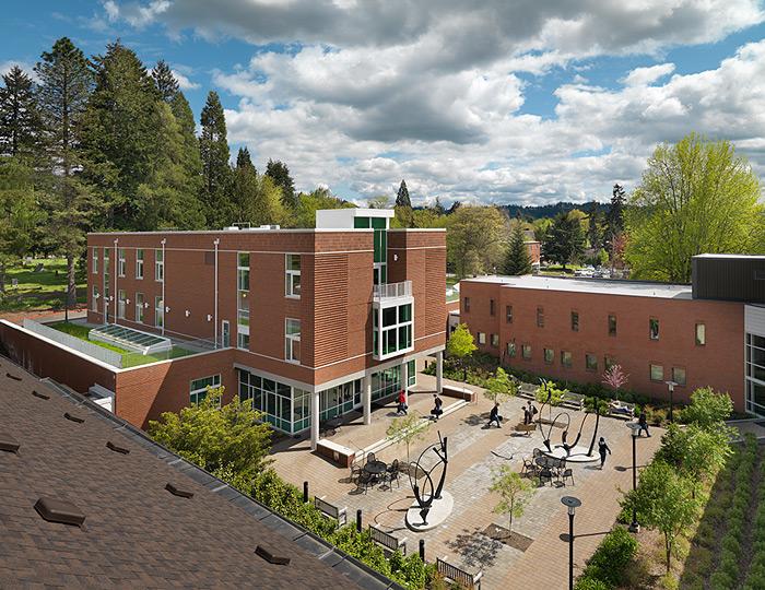 School of Music & Dance Courtyard