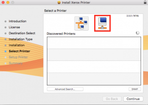 Connecting to Xerox Printers & Adding a Print Code Preset (Mac users