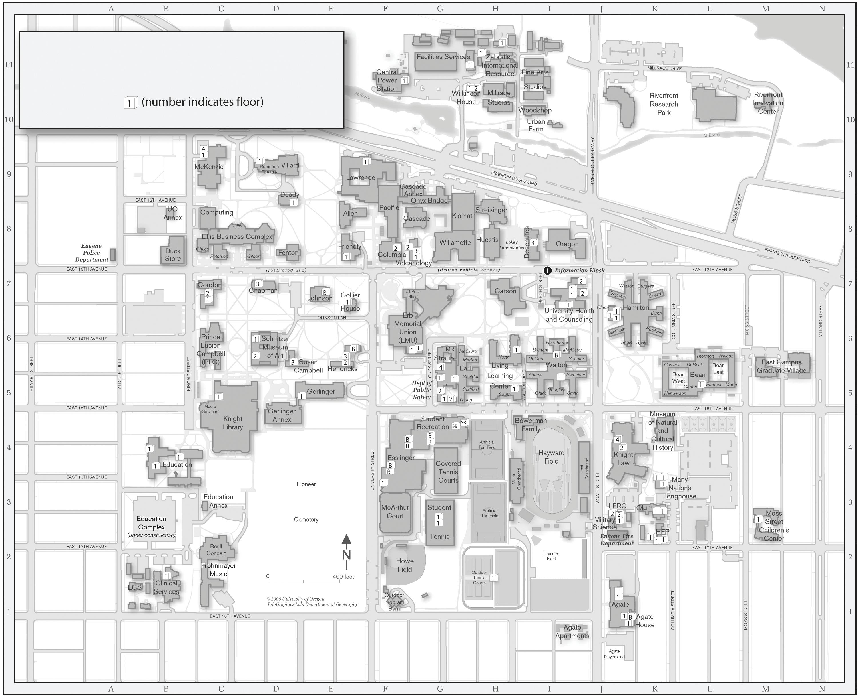 U Of O Map | Rtlbreakfastclub
