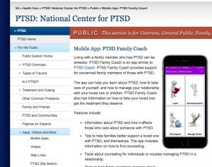 PTSD Family Coach Mobile App
