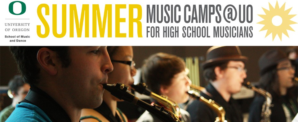 Summer Music Camps @ UO