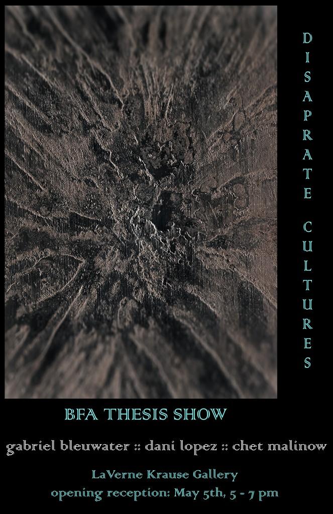 week 6 BFA Thesis show copy