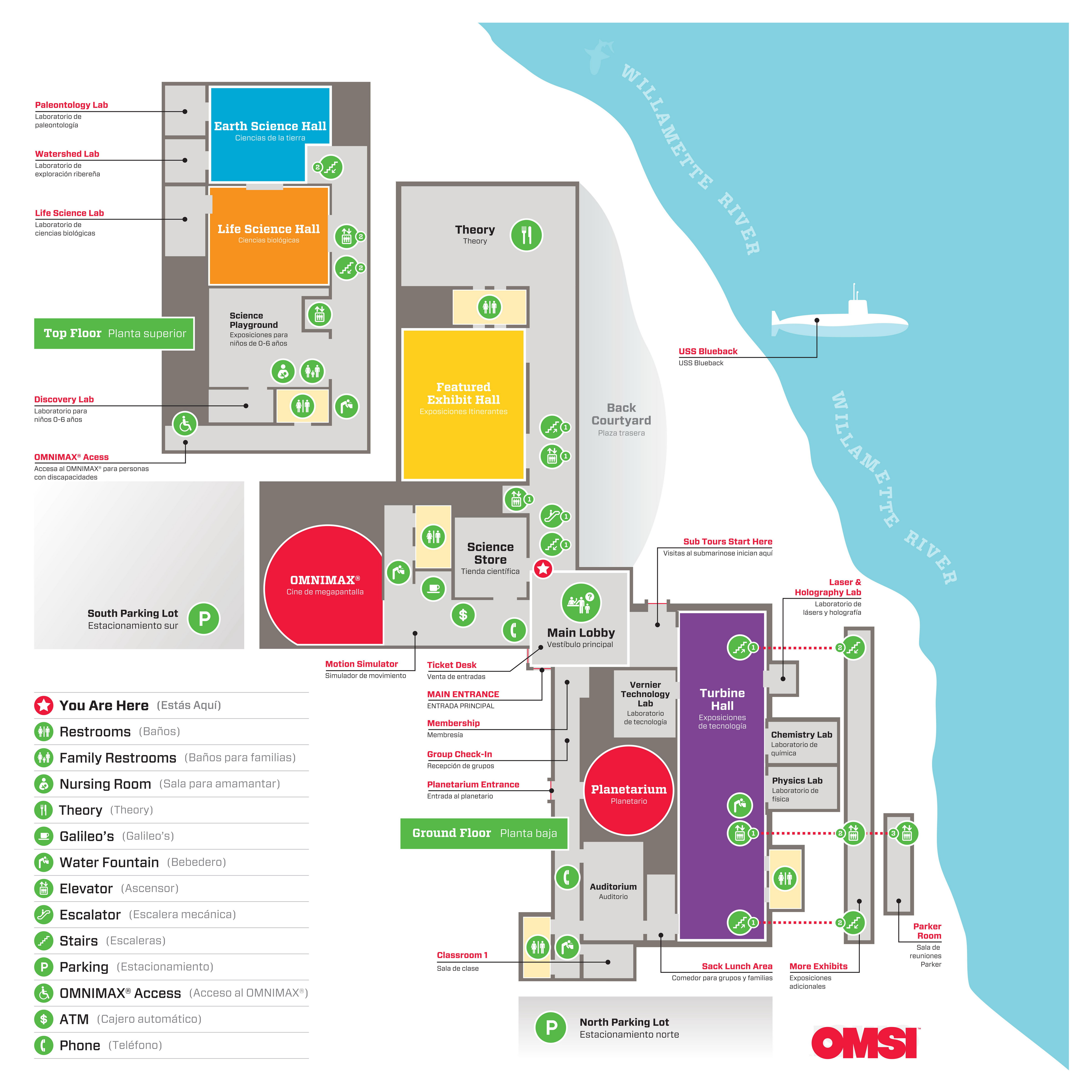 OMSI Site Plan