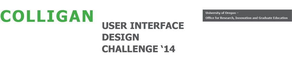 Colligan User Interface Design Challenge '13