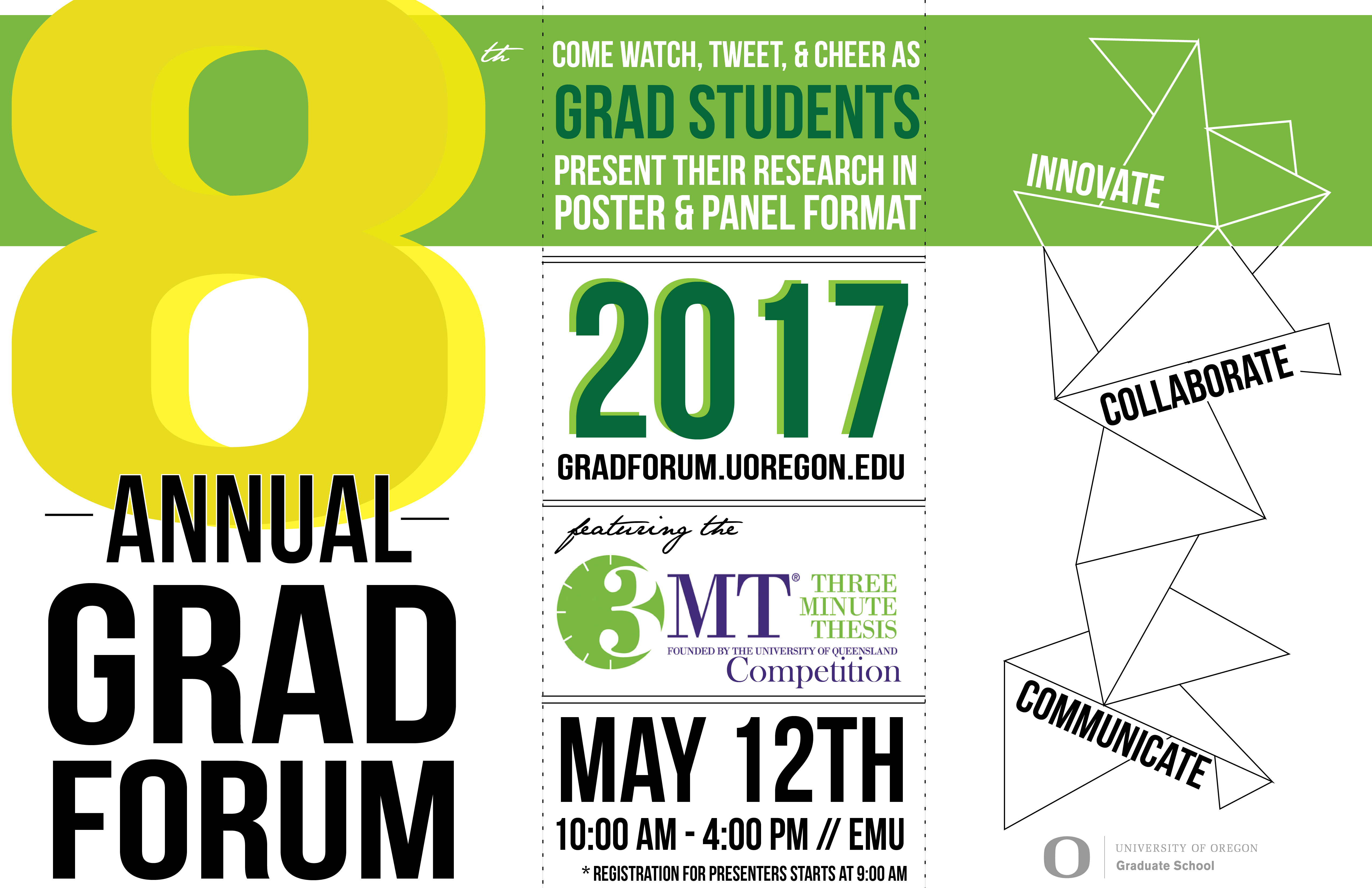 Poster design for students - Graduate Student Research Forum Friday May 12th 10 00 Am 4 00 Pm At The New Emu