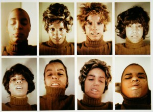 Untitled (Facial Cosmetic Variations)
