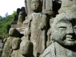 4.  Stone Statues, Southern Sado Island, near Ogi, Japan