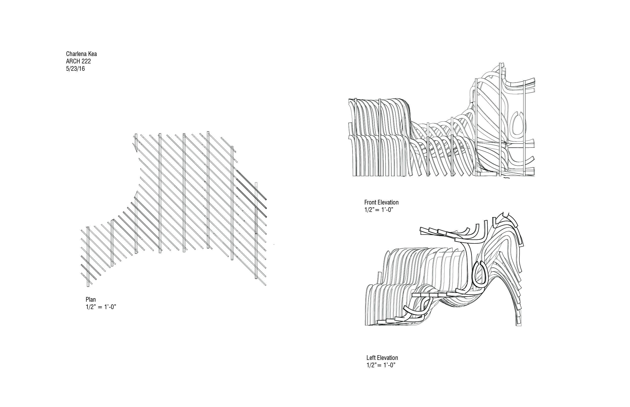 Tree Ring Treeringdiagramjpg Rendered Bench Final 2 Post Plan And Section 01