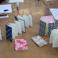 PAST: Tell A Story: Make and Explore Artists' Books workshop
