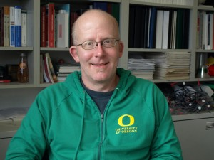 """Photo of Professor Michael Haley"""