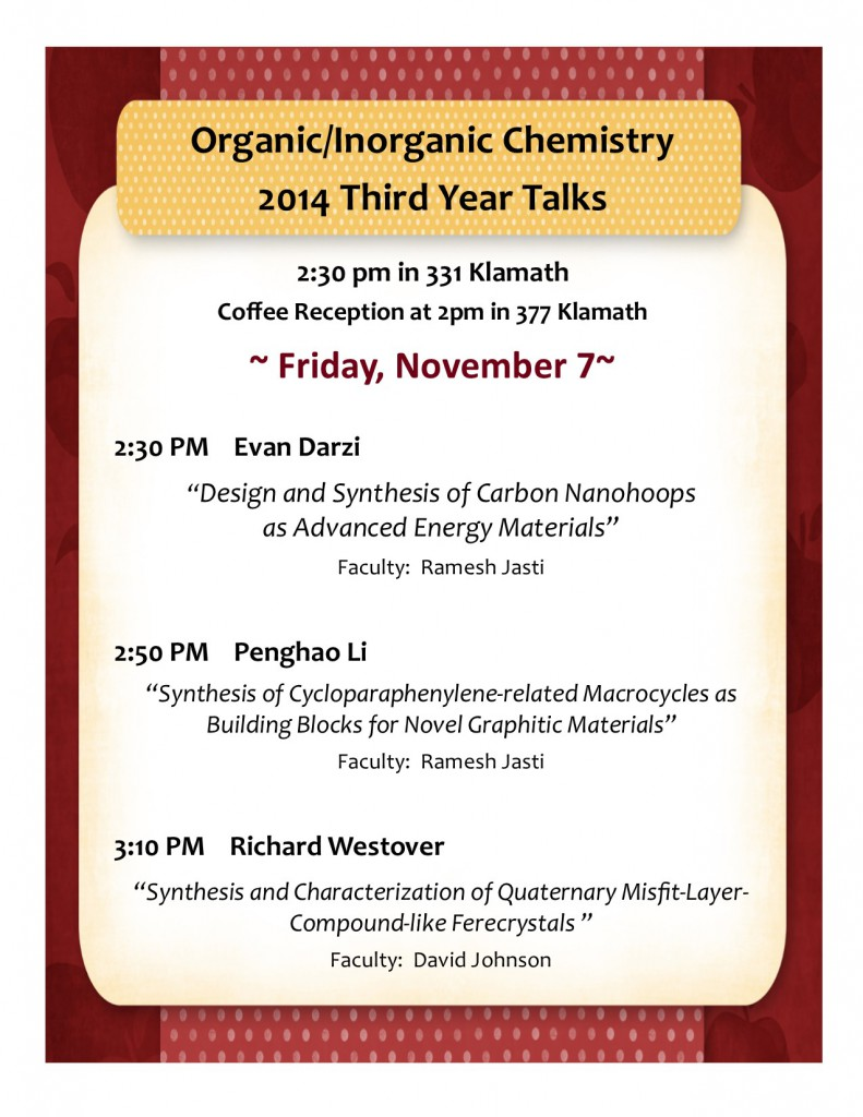 poster- 2014 3rd year talks