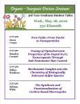 Poster - 3rd year talks - May 18