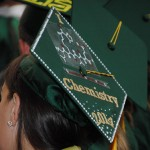 Photo: Decorated Mortar Board - Chemsitry Theme